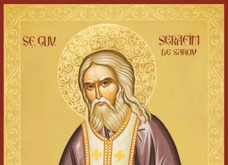 Icoana Sfântului Cuvios Serafim de Sarov