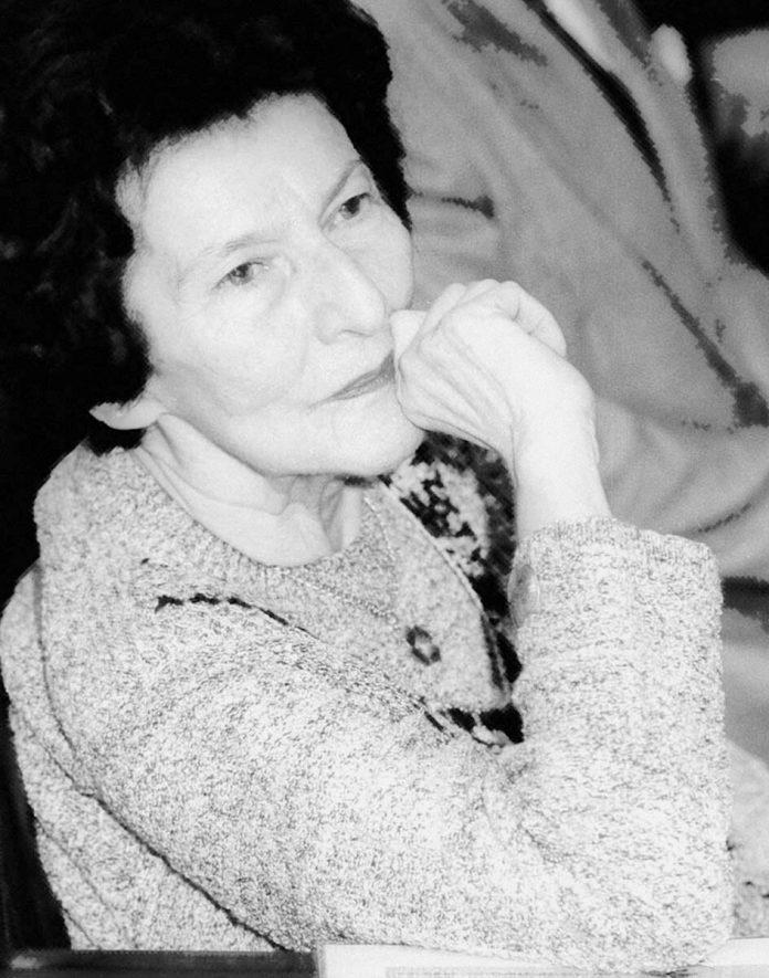 Acad. Zoe Dumitrescu-Bușulenga – Maica Benedicta