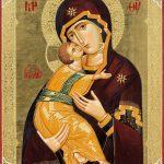 Icoana Maicii Domnului Vladimirskaia - Mănăstirea Putna, Duminica Ortodoxiei