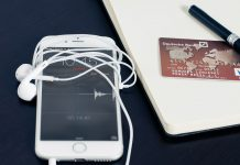 I-phone, credit card, business