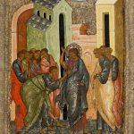 Sf. Ap. Toma pipăind coasta lui Iisus, Duminica a II-a după Paști