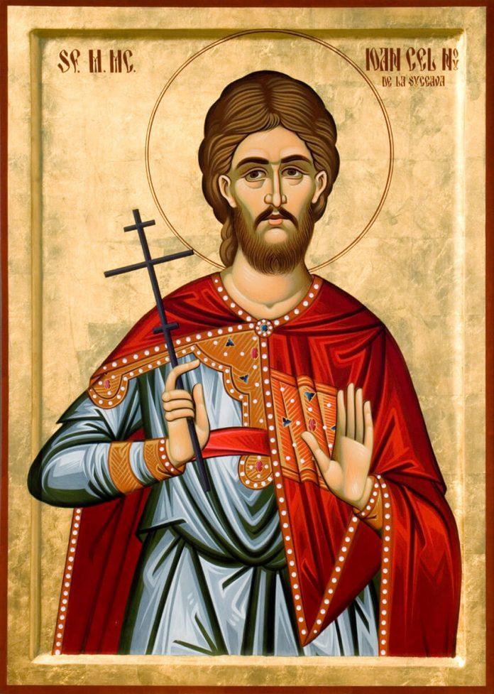 Sf. Ioan cel Nou de la Suceava, icoană pictată la Mănăstirea Putna, mutarea moaștelor, 24 iunie, 2 iunie