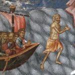 Umblarea pe mare - potolirea furtunii, minune, Iisus, valuri, Petru, scufundare, înecare