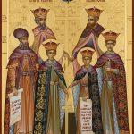 Sfinții Martiri Brâncoveni: Constantin și fii săi, Constantin, Ștefan, Radu, Matei, și sfetnicul Ianache Văcărescu, 16 august