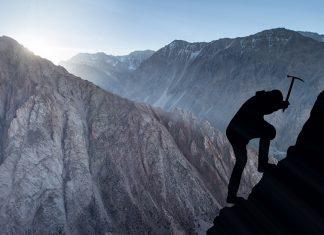 Alpinist, munte, pericol, curaj