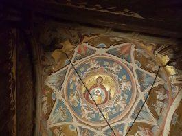 Mănăstirea Putna, biserica voievodală, pronaos, boltă