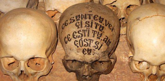 Ce sunt eu vei fi și tu, ce ești tu am fost și eu, Craniu, moarte, osuar, prodromul, Sf. Munte Athos