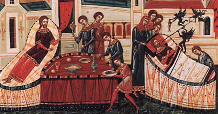 Bogatul nemilostiv și săracul Lazăr, Duminica a XXII-a după Rusalii