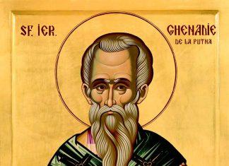 icoana Sf. Ier. Ghenadie I, Patriarhul Constantinopolului, Mănăstirea Putna