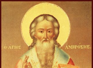 Sfântul Ierarh Ambrozie al Mediolanului, 7 decembrie