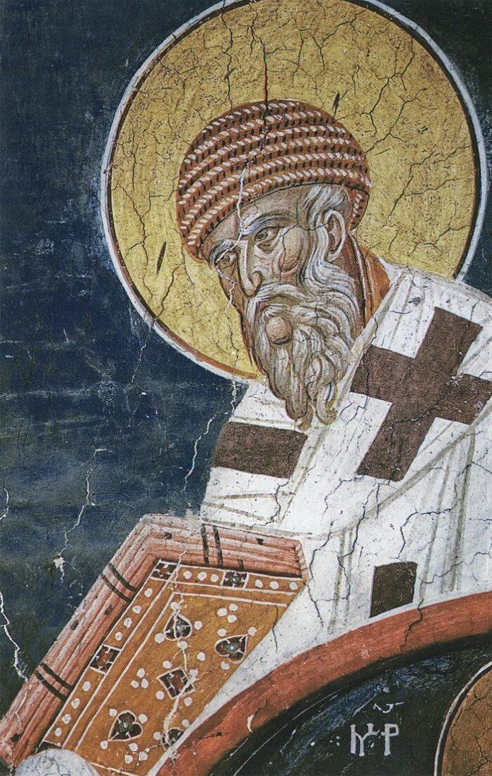 Sfântul Ierarh Spiridon, făcătorul de minuni, Episcopul Trimitundei, Insula Corfu, 12 decembrie
