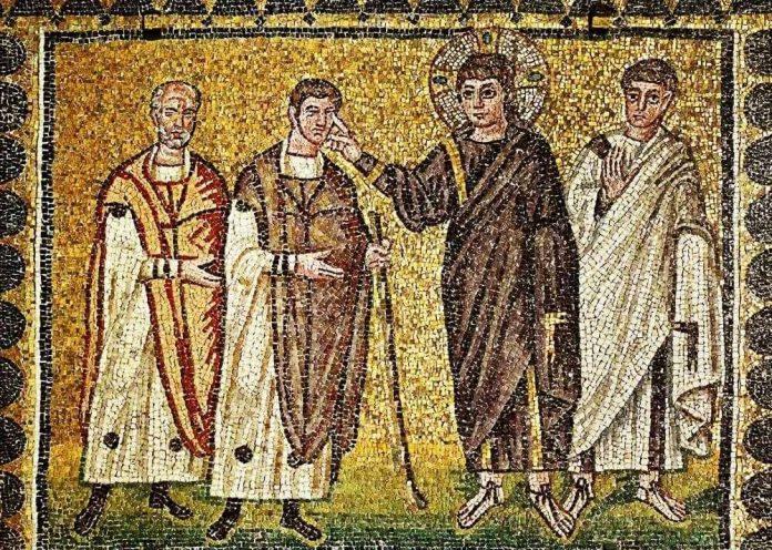 Duminica a XXXI-a după Rusalii. Vindecarea Orbului din Ierihon