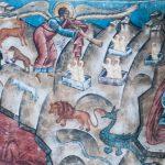 Judecata de Apoi, Mănăstirea Voroneț (detaliu)