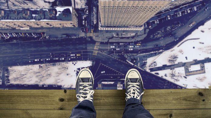 abis,înălțime,clădire,gol,hău
