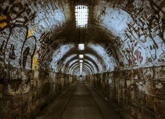 tunel, întuneric, periculos, canalizare, mărginaș