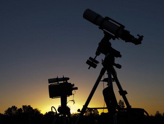 Grand Canyon National Park (SUA), telescop,stele,cer,astre,cosmos,planete