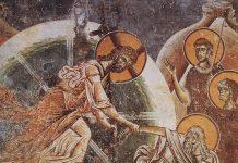 Pogorârea la iad, Învierea Domnului