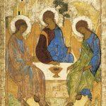Sfânta Treime, Andrei Rubliov, icoană, Dumnezeu