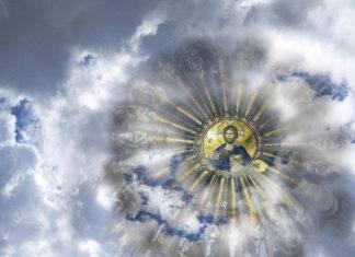 Iisus Hristos Pantocrator, cincizecime, Pogorârea Sfântului Duh