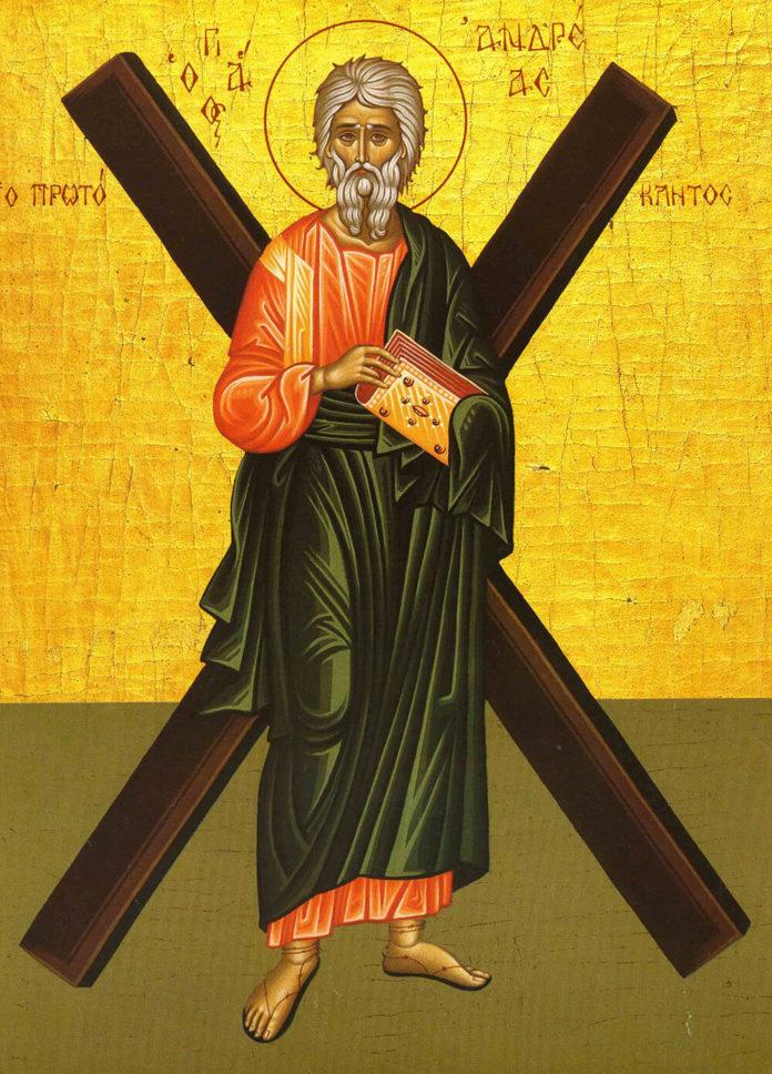 Sf. Ap. Andrei (Ocrotitorul României), Dobrogea, icoană