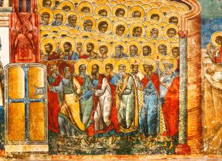 Voroneț, rai, frescă, mănăstire
