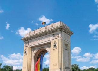 Arcul de triumf din București, ridicat în memoria soldaților români căzuți în Primul Război Mondial, Marea Unire
