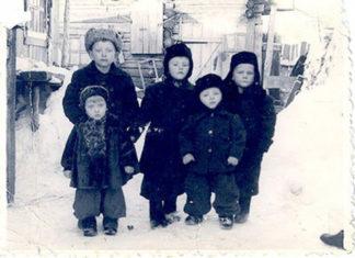 gulagul sovietic, lagăr, copii, iarnă, bucurie, Crăciunul, Nașterea Domnului
