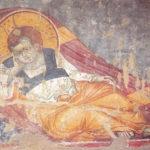 Iisus Hristos Prunc, Protaton, Sf. Munte, mănăstire, frescă, panselinos