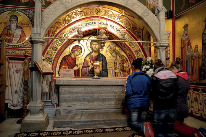 mormântul Sfântului Voievod Ștefan cel Mare, Mănăstirea Putna