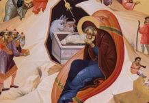 Nașterea Domnului, întrupare, icoană