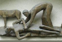 Samarineanul milostiv, milă, jertfă, artă