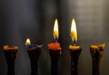 lumânări, sfeșnic