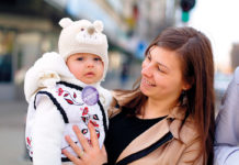 Mamă, copil, Foto Claudiu Pântea