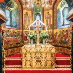 Altar, Mănăstirea Putna