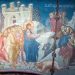 Învierea lui Lazăr, Mănăstirea Decani; foto: www.blagofund.org