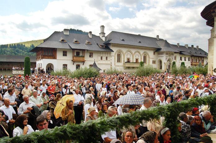 Hram la Mănăstirea Putna, Adormirea Maicii Domnului, Sf. Ștefan cel Mare