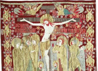 Dvera Răstignirii dăruită de Ștefan cel Mare Mănăstirii Putna (1500)