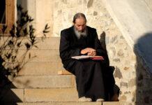 Arhid. Teofilact Ciobîcă (Mănăstirea Putna)